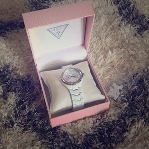 Guess Watch w/ Mother of Pearl Face